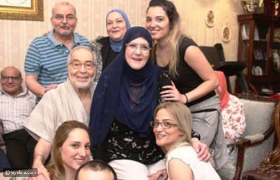 شمس البارودي وعائلتها