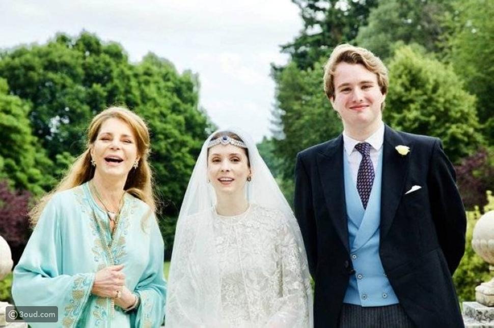 عقد قران الأميرة راية بنت الحسين في لندن