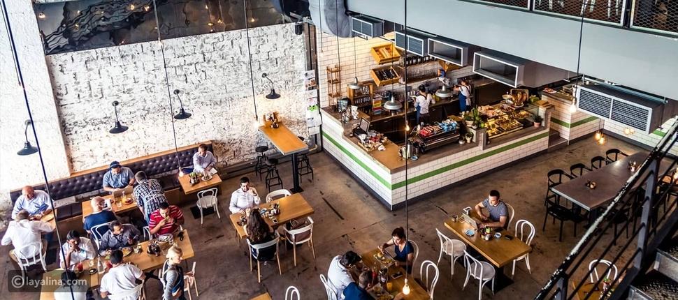 """مطعم فندق """"توم آند سيرج"""" الذي يقع وسط مدينة دبي"""