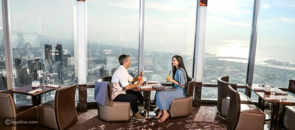 """مطعم """"آتموسفير"""" في برج خليفة - دبي"""