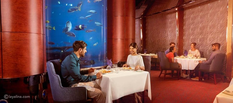 مطعم المحارة في برج خليفة