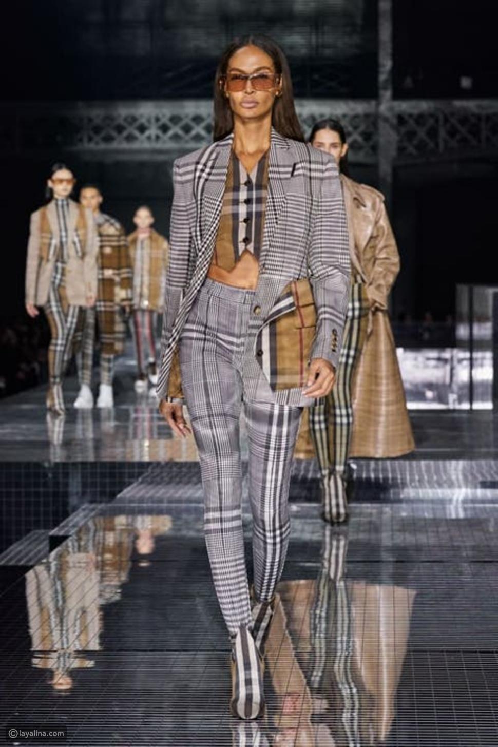 استلهمي إطلالاتك الشتوية من عروض أزياء 2021