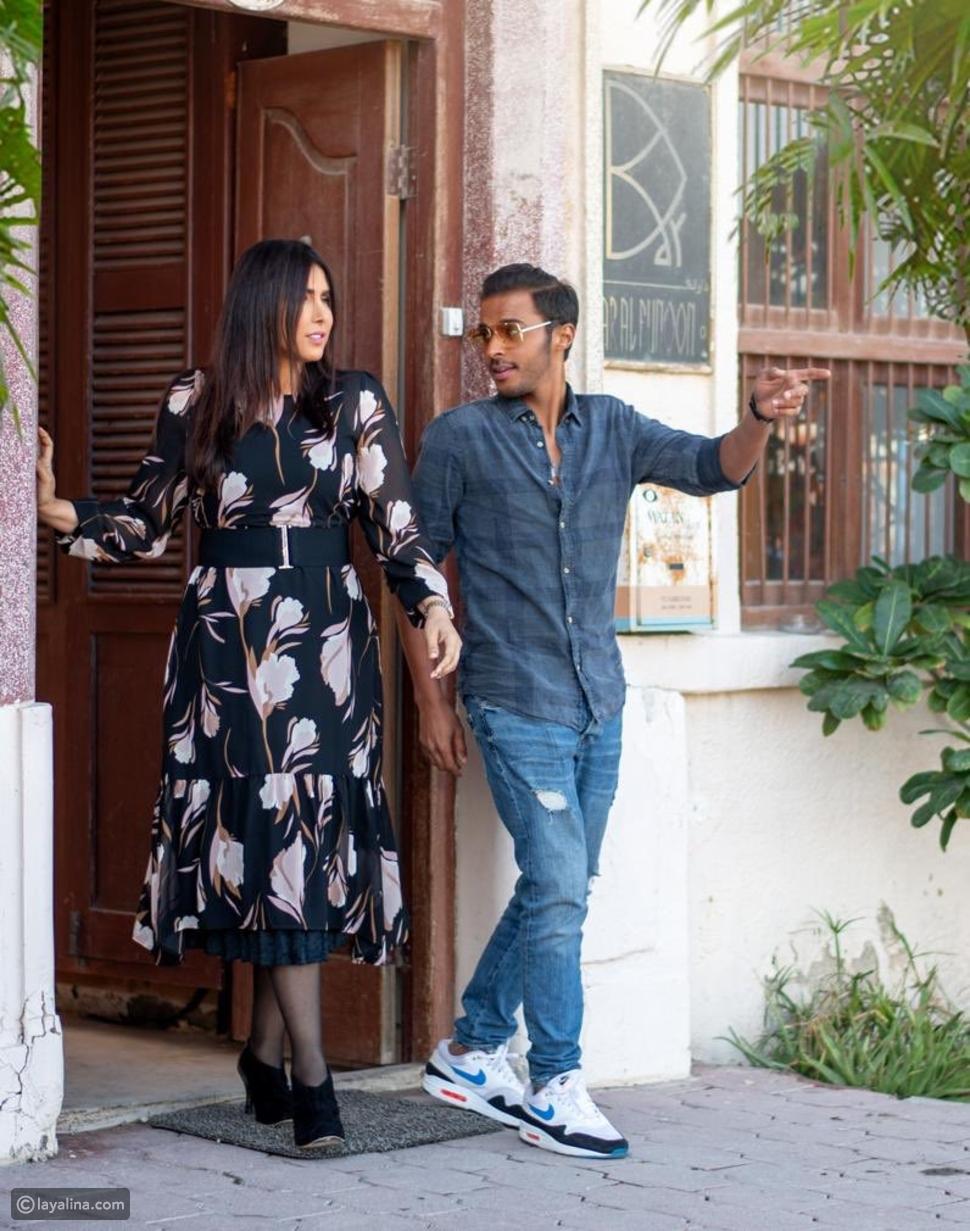 صورة زهرة الخرجي وعبدالله الطراروة