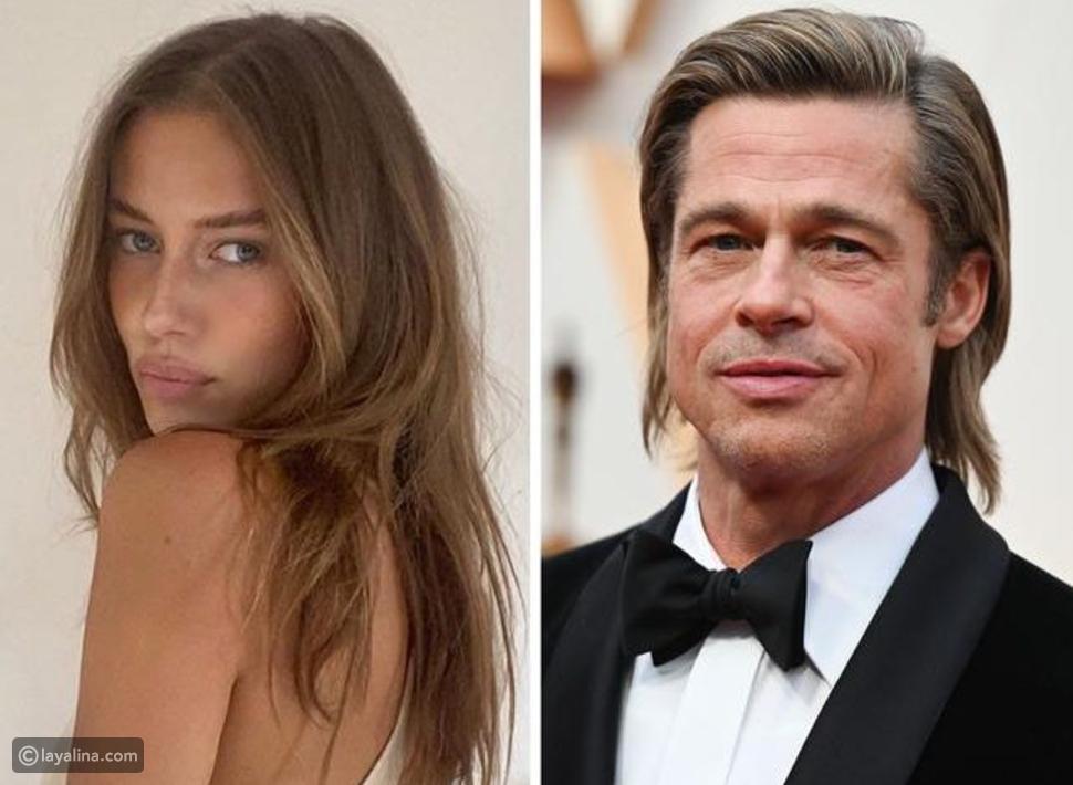 انفصال براد بيت عن صديقته شبية أنجلينا جولي