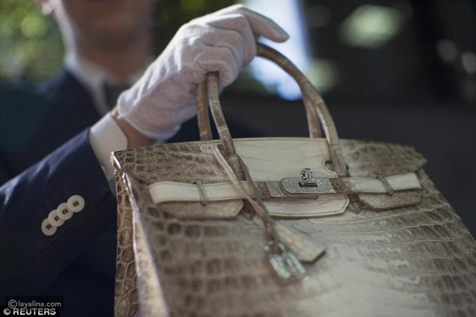 حقيبة Hermes تباع بمبلغ خيالي يجعلها أغلى حقيبة في العالم!