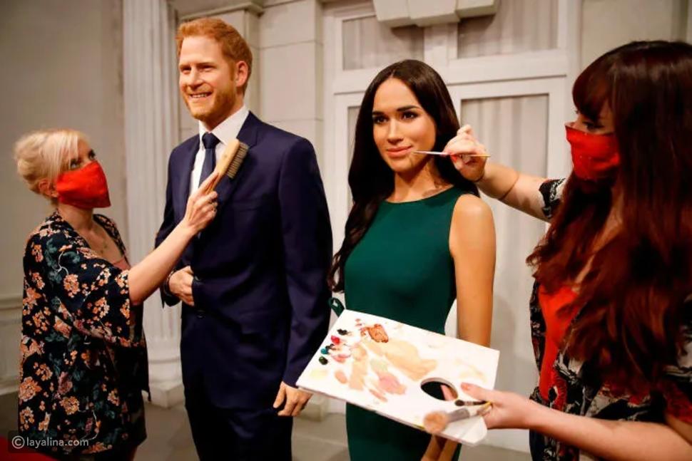 الأمير هاري وميغان ماركل يغادران الحياة الملكية حتى في المتاحف