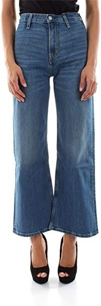 Wide Ankle Leg Jeans