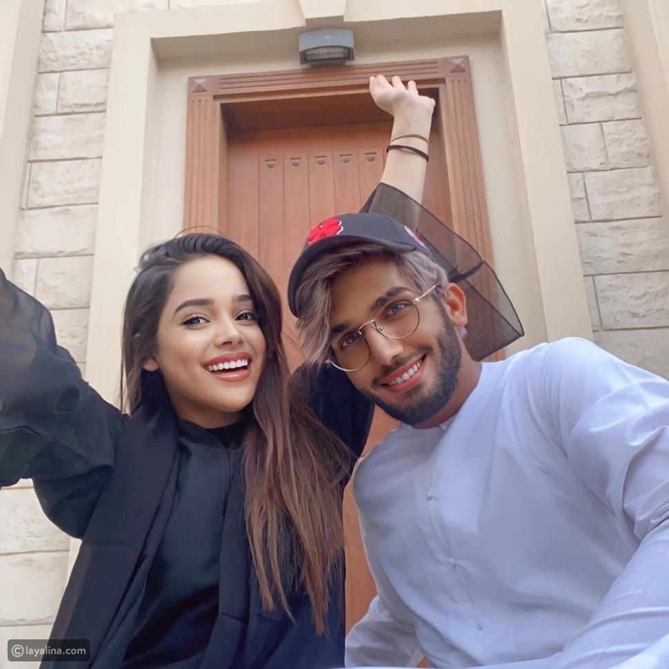 مشاعل الشحي تحتفل بمنزلها