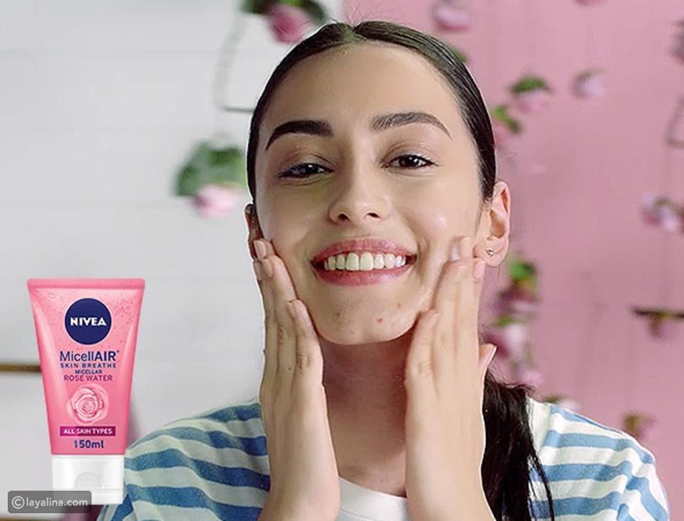 غسول Rose water Face Wash