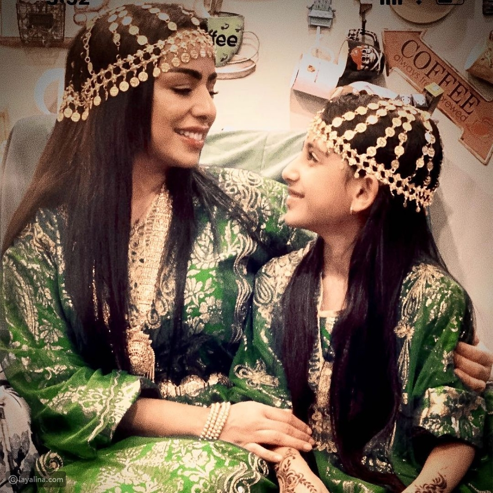 هند البلوشي تحتفل بعيد ميلاد ابنتها