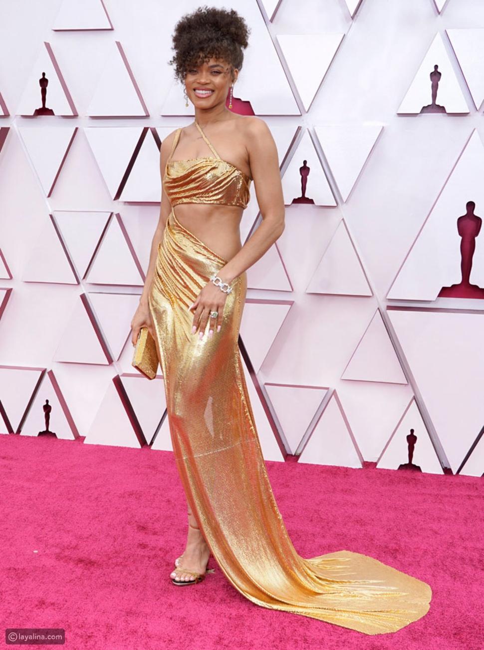 فستانأندرا دايفيحفل توزيع جوائز الأوسكار لعام 2021