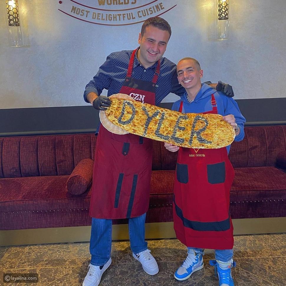 دايلر مع الشيف بوراك