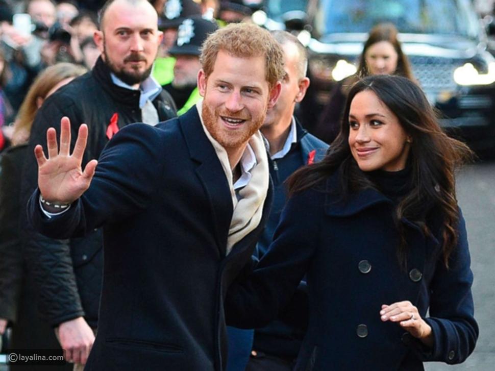 ميغان ماركل وخطيبها الأمير هاري
