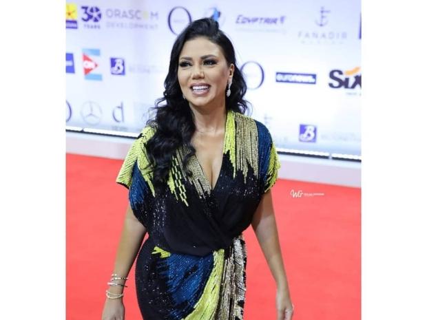رانيا يوسف من اليوم الثاني من مهرجان الجونة