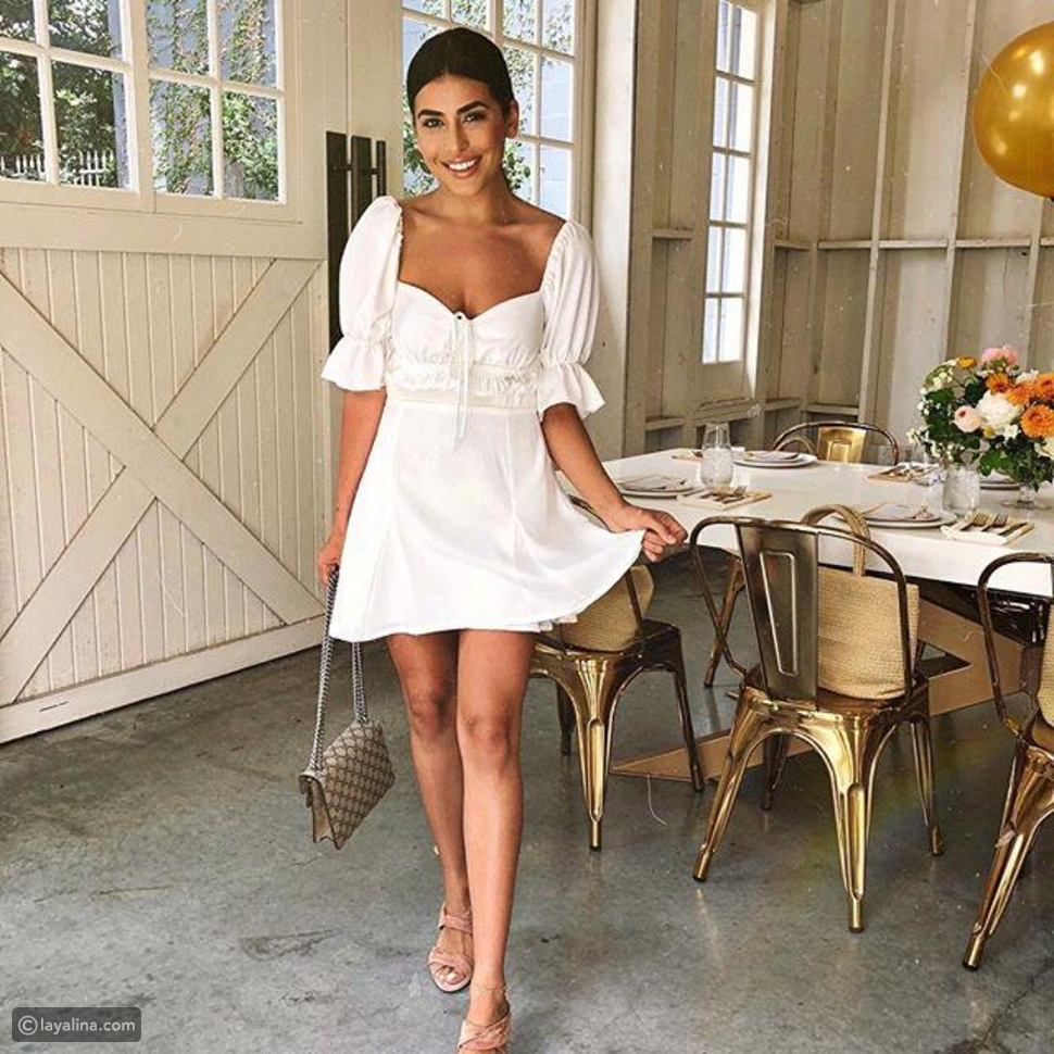 فساتين باللون الأبيض White Dresses