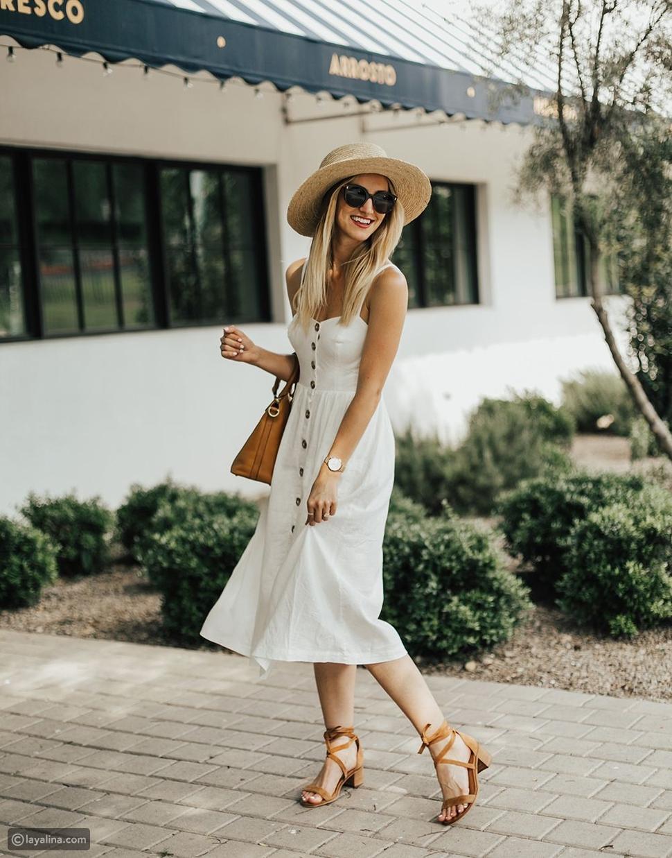 فستان متوسط الطول Midi Dresses