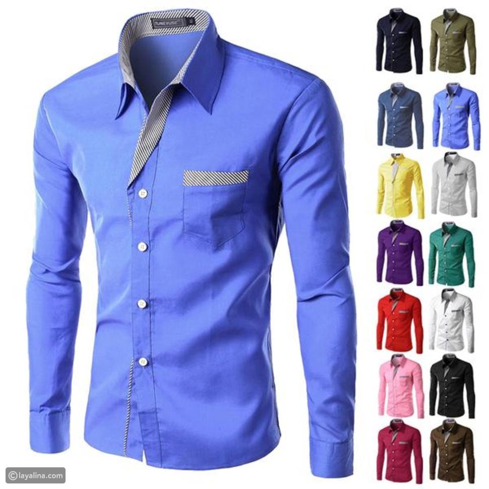 أنواع ياقة القميص
