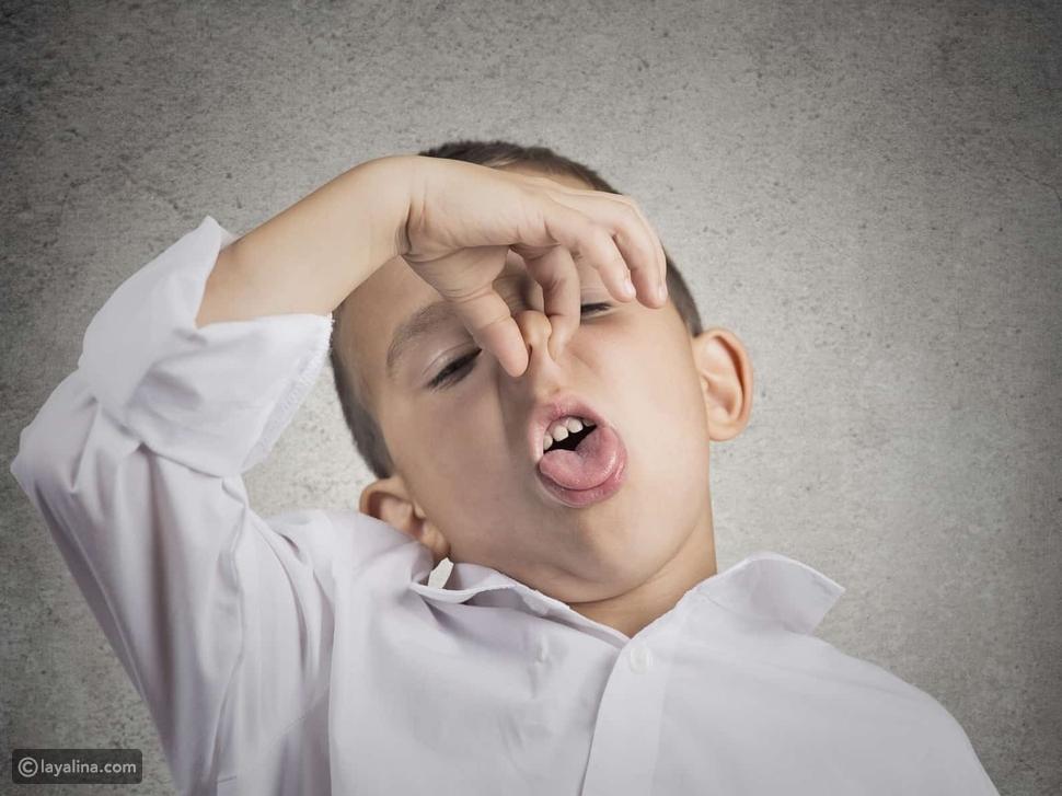 أسباب رائحة فم الأطفال الكريهة: