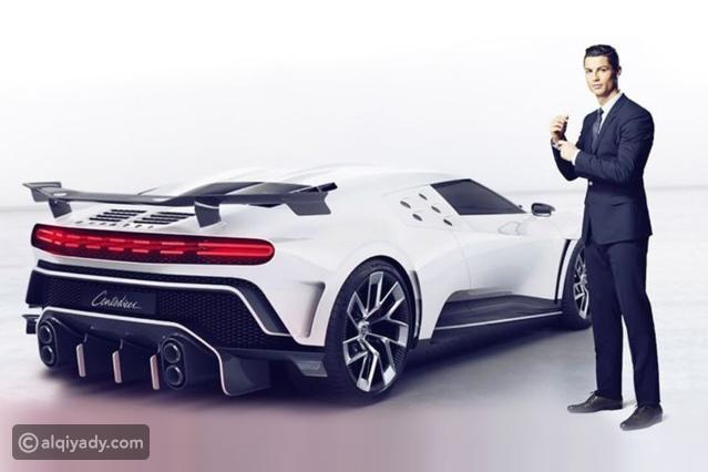 رونالدو يضم بوغاتي شينتوديتشي السيارة الأغلى في التاريخ لأسطوله