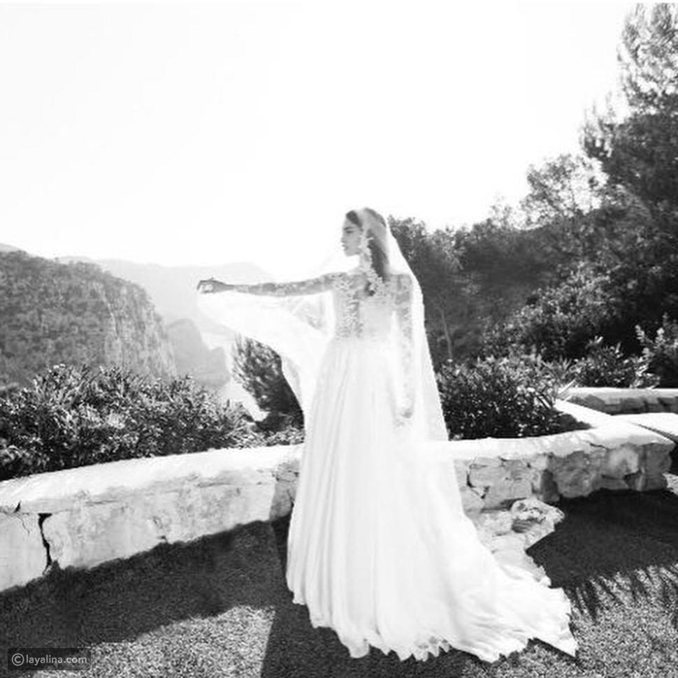 عروس زهير مراد جوانا سانز