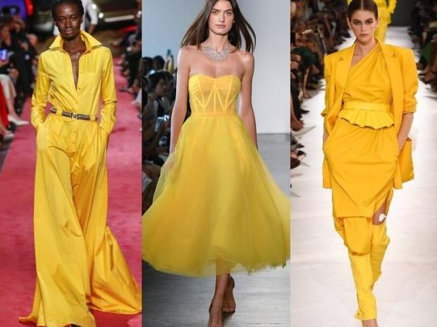 ارتدي اللون الأصفر على طريقة عروض الأزياء لشتاء 2020