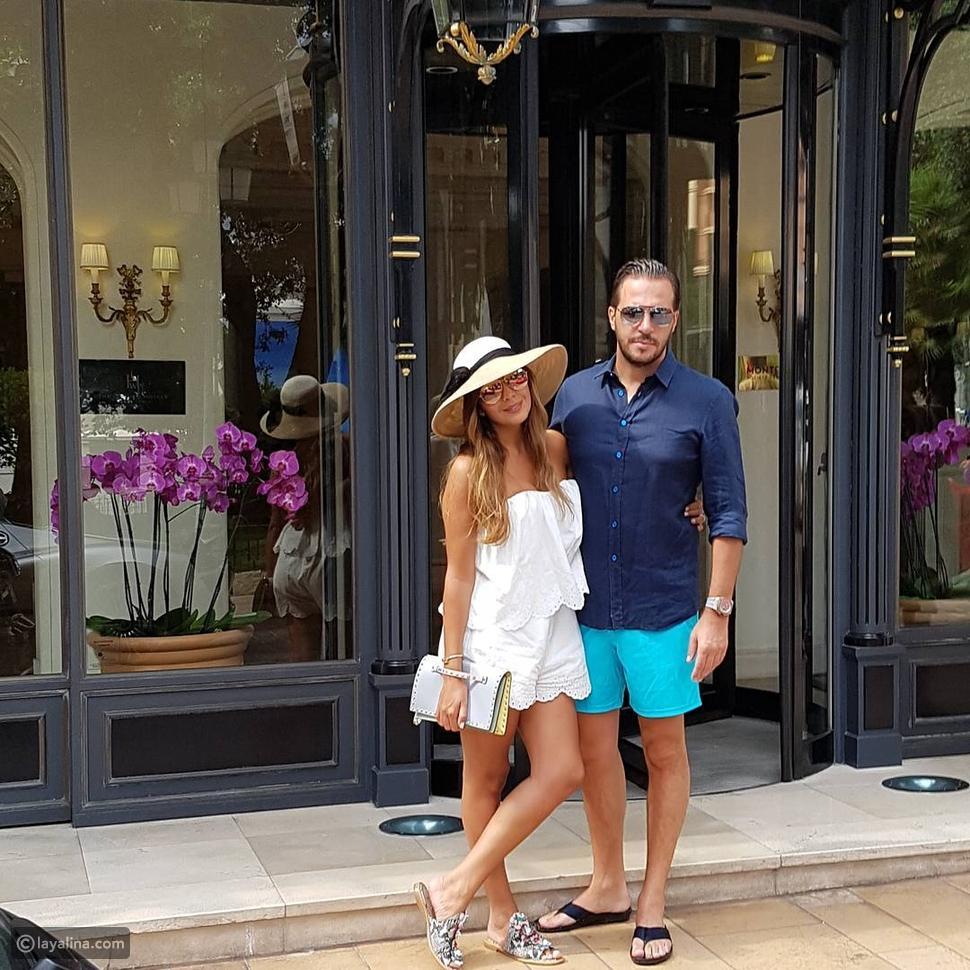 أمل بوشوشة وزوجها يثيران ضجة على انستقرام بصورهما المذهلة في باريس