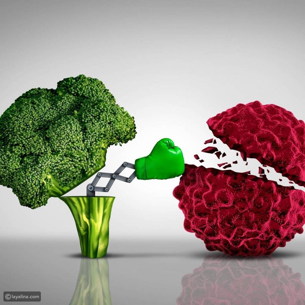 أغذية تكافح الخلايا السرطانية