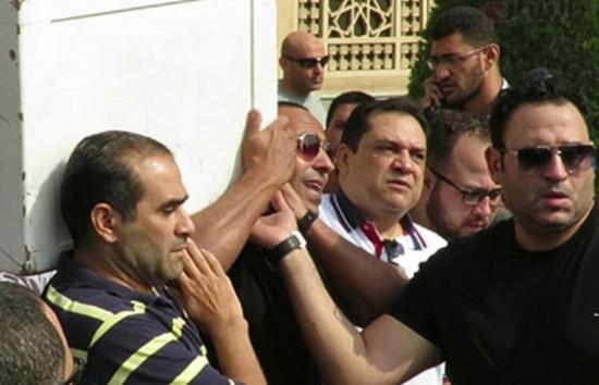 جنازة والد أكرم حسني