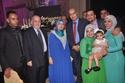 أحمد الفولي مع مجموعة من الحضور
