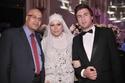 تامر حسني ومحمد حماقي في زفاف شادي عبد المنعم ومريم الفولي