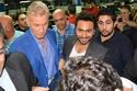 """صور تامر حسني وغادة عادل يحتفلان بالعرض الخاص لفيلم """"أهواك"""" بحضور كثيف لنجوم الفن"""