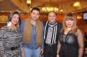 صور نجوم الفن في عقد قران الفنانة ايناس النجار على رجل الأعمال محمد محفوظ