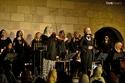 فرقة الحرملك النسائية بحفل موسيقى كامل العدد