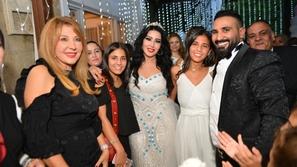 صور حفل زفاف احمد سعد وسميه الخشاب