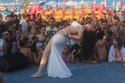 صور           دينا تتالق فى حفل وايت بيتش بمارينا 5 يحضور كبير