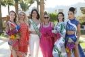صور           ملكات جمال العالم للمراهقات بمسابقة ملابس البحر من دهب