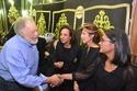 صور       نجوم الفن والمجتمع والمشاهير فى عزاء السفير فؤاد يوسف