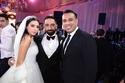 محود الليثى والعروسين