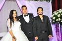 صور        مصطفى حجاج ومحمد نور وهدى يشعلون زفاف محمود السويسى وصابرين