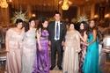 أسرة العريس