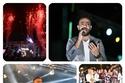 صور          تامرعاشور والليثى يشعلون حفل  الجامعة المصرية الصينية