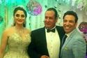 العروسين مع سعد الصغير