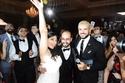 صور       سامو زين يشعل  حفل زفاف مارينا ومارين  بحضور نجوم الشباب
