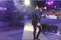 تامر حسني يتألق في حفل رأس السنة