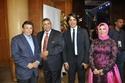 صور أحمد زاهر ومحمد رمضان ومنى عبد الغني ونجوم الفن والإعلام في حفل تكريم مدرسة طيبة