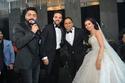 صور       تامر حسنى وبوسى وحجاج يشعلون حفل زفاف نوار وابراهيم