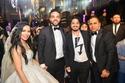 مصطفى حجاج والعروسين