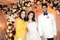 صور        .بوسى وشيبة وحجاج يشعلون حفل زفاف احمد وسلمى بحضور المشاهير