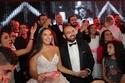 صور       بوسى والليثى وجوهرة يشعلون حفل زفاف جاسمن ومحمد