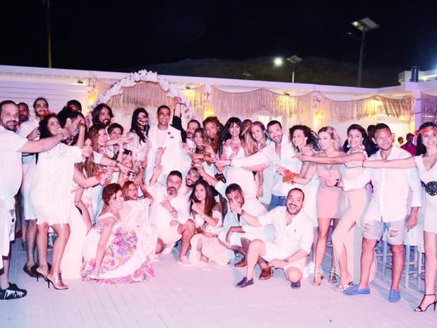 صور نجوم الفن يحتفلون بزفاف هبة السيسي وباسل أمين في الساحل الشمالي